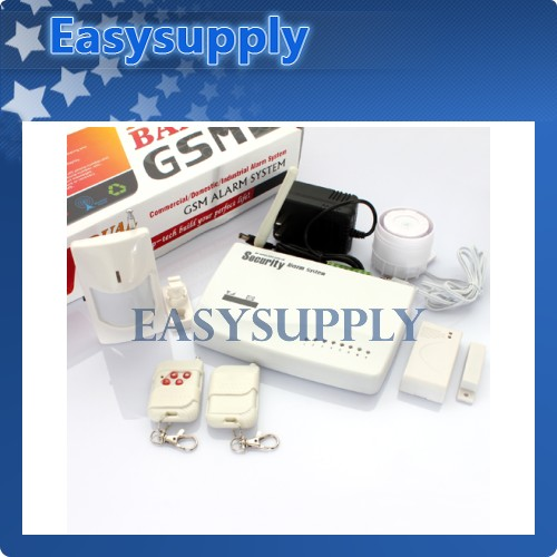 Wireless GSM System House Burglar Intruder Alarm System