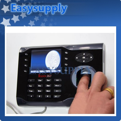Biometric Fingerprint Attendance TCP/IP Time Clock NEW