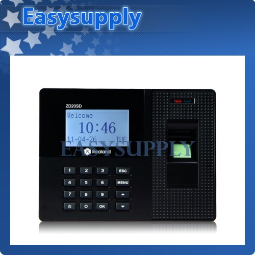 NEW Fingerprint Attendance System Time Clock ZD20SD