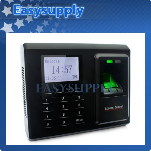 Fingerprint Access Control And Time Clock With TCP/IP