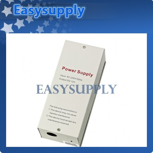 Door AccessControl Power Supply DC 12V 5A/AC 220V