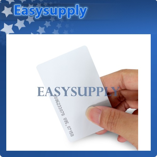 100pcs 125Khz RFID Proximity ID Cards For Access Control Use