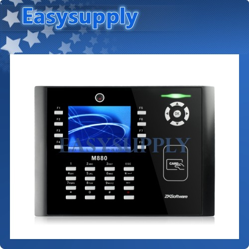 "3.5"" Time Clock And Access Control Linux System+Camera"
