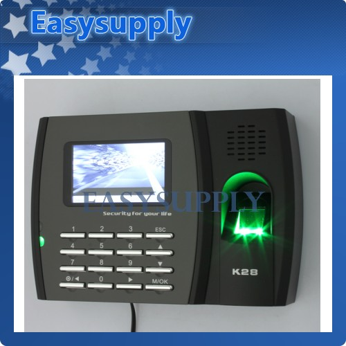 ZKsoftware Biometric Fingerprint Time Clock+USB Client