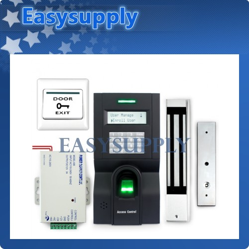 Fingerprint Access Control System Set With Powersupply